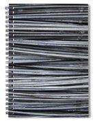 Water On Wire Spiral Notebook