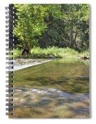 Water Over The Bridge Spiral Notebook