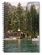 Water Play At Emerald Bay Spiral Notebook