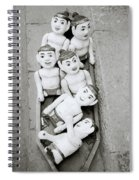 Water Puppets In Hanoi Spiral Notebook