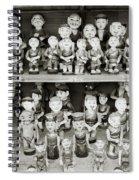 Water Puppets Spiral Notebook