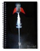 Water Rocket Spiral Notebook
