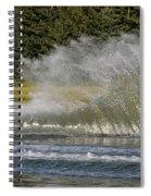 Water Skiing 4 Spiral Notebook