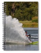 Water Skiing 6 Spiral Notebook