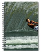 Water Skiing Magic Of Water 1 Spiral Notebook