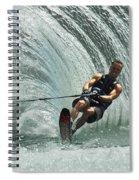 Water Skiing Magic Of Water 10 Spiral Notebook
