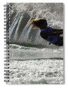 Water Skiing Magic Of Water 12 Spiral Notebook