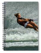 Water Skiing Magic Of Water 2 Spiral Notebook
