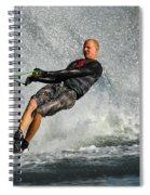 Water Skiing Magic Of Water 20 Spiral Notebook