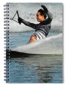 Water Skiing Magic Of Water 22 Spiral Notebook