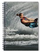 Water Skiing Magic Of Water 23 Spiral Notebook