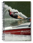 Water Skiing Magic Of Water 26 Spiral Notebook
