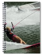 Water Skiing Magic Of Water 28 Spiral Notebook