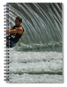 Water Skiing Magic Of Water 3 Spiral Notebook