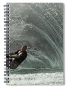 Water Skiing Magic Of Water 31 Spiral Notebook