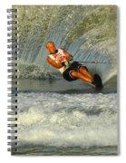Water Skiing Magic Of Water 4 Spiral Notebook