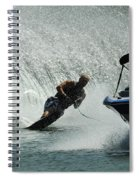 Water Skiing Magic Of Water 6 Spiral Notebook