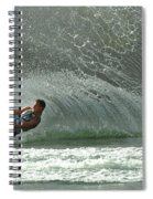 Water Skiing Magic Of Water 7 Spiral Notebook
