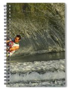 Water Skiing Magic Of Water 8 Spiral Notebook