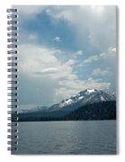 Water Snow Vapor Lake Tahoe Spiral Notebook