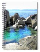 Water Stonehenge Lake Tahoe Spiral Notebook