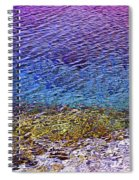Water Surface  Spiral Notebook