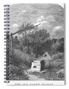 Water Well, C1880 Spiral Notebook