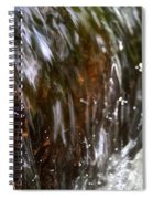 Water Wrapped Spiral Notebook