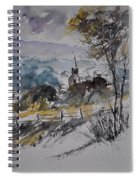 Watercolor Lesterny Spiral Notebook