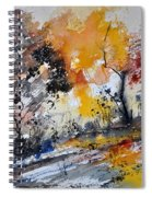 Watercolor211020 Spiral Notebook