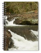 Waterfall 202 Spiral Notebook