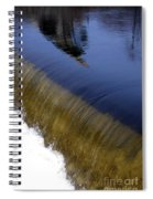 Waterfall And Reflections Spiral Notebook