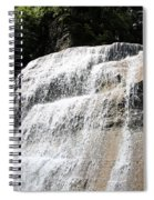 Waterfall At Treman State Park Ny Spiral Notebook