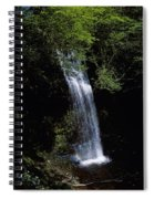 Waterfall In A Forest, Glencar Spiral Notebook