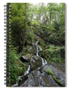 Waterfall In The Forest Spiral Notebook