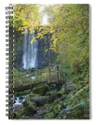 Waterfall Of Vaucoux. Puy De Dome. Auvergne. France Spiral Notebook