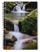 Waterfall, Peter Lougheed Provincial Spiral Notebook