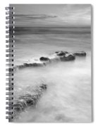 Waterfalls On The Rocks M Spiral Notebook