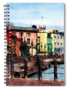 Waterfront Bridgetown Barbados Spiral Notebook