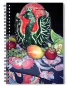 Watermelon Swan Spiral Notebook