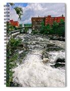Waterpower Spiral Notebook