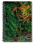 Watershed Park Foliage Spiral Notebook