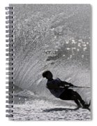 Waterskiing 1 Spiral Notebook