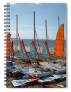 Watersports In La Baule Spiral Notebook