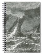 Waterspouts Spiral Notebook