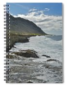 Waves At Kaena State Park 7847 Spiral Notebook