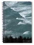 Waves In The Sky Spiral Notebook