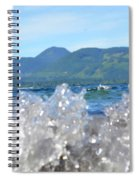 Waves Of Joy Spiral Notebook