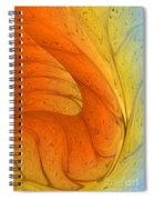 Waves Of Sanity Spiral Notebook