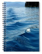 Waves On Tahoe Spiral Notebook